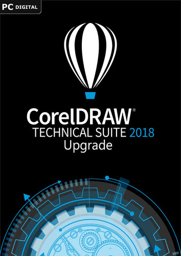 Verpackung von CorelDRAW Technical Suite 2018 Upgrade [PC-Software]
