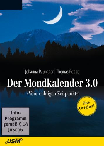 Verpackung von Der Mondkalender 3.0 [PC-Software]