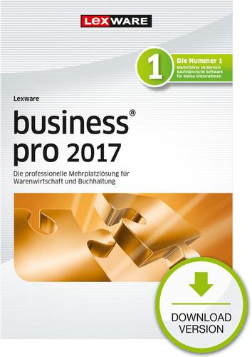 Verpackung von Lexware business pro 2017 Jahresversion (365-Tage) [PC-Software]