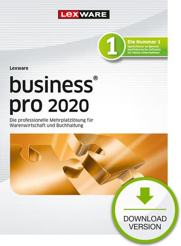 Verpackung von Lexware business pro 2020 - Jahresversion (365-Tage) [PC-Software]