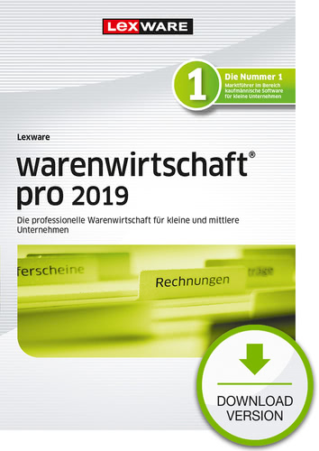 Verpackung von Lexware warenwirtschaft pro 2019 [PC-Software]