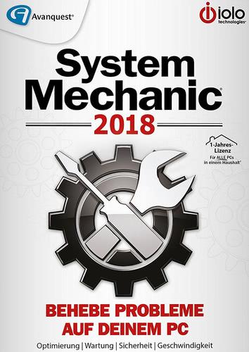 Verpackung von System Mechanic 2018 [PC-Software]