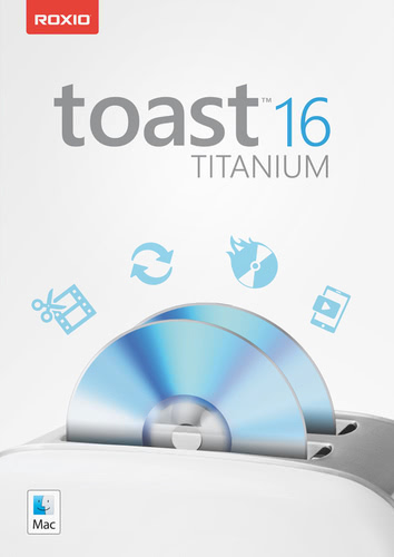 Packaging by Roxio Toast 16 Titanium [Mac-software]
