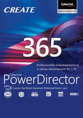PowerDirector 365 12 Monate (Download), PC