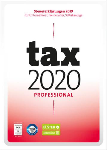 Verpackung von tax 2020 Professional (für Steuerjahr 2019) [PC-Software]