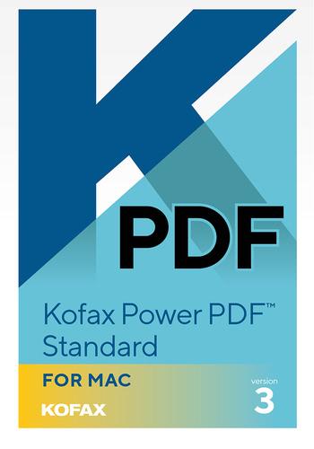 Verpackung von Kofax Power PDF 3 [Mac-Software]