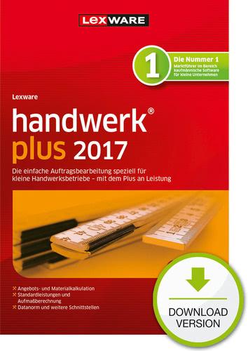 Lexware handwerk plus 2017 Jahresversion (365-Tage)