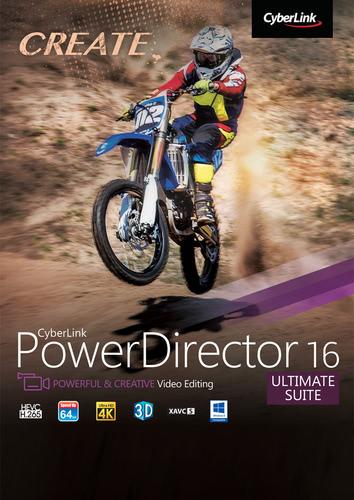 Packaging by CyberLink PowerDirector 16 Ultimate Suite [PC-software]