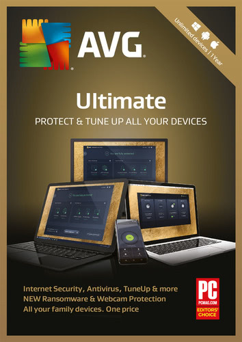 Packaging by AVG Ultimate 2018 [MULTIPLATFORM]