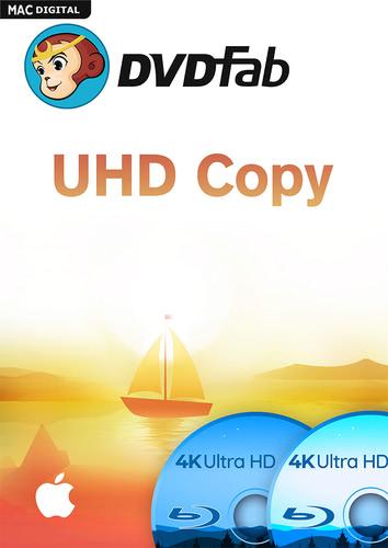 Verpackung von DVDFab UHD Copy (24 Monate) [Mac-Software]