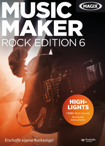 Music Maker Rock Edition 6 (Download), PC