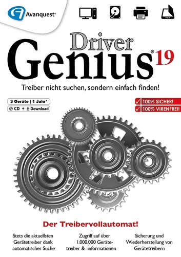 Driver Genius 193 PCs 12 Monate (Download), PC