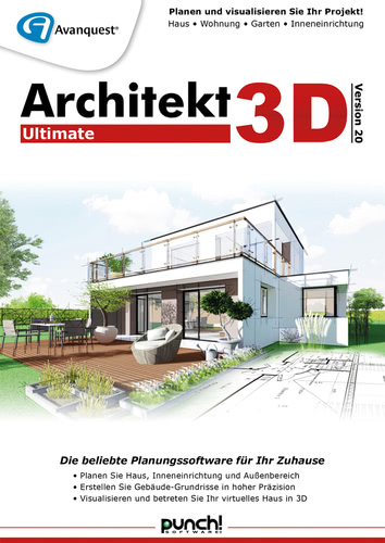 Architekt 3D 20 Ultimate (Download), PC