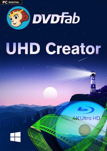 Verpackung von DVDFab UHD Creator (24 Monate) [PC-Software]