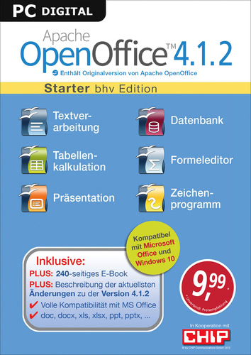 Apache OpenOffice 4.1.2 – Starter (Download), PC