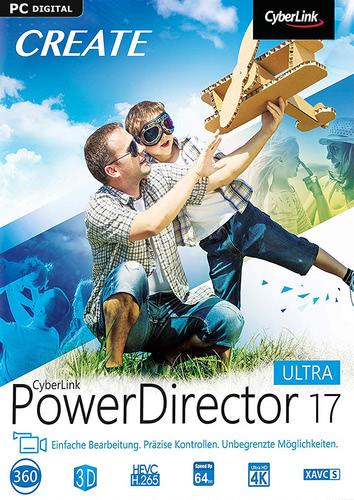 Verpackung von PowerDirector 17 Ultra [PC-Software]