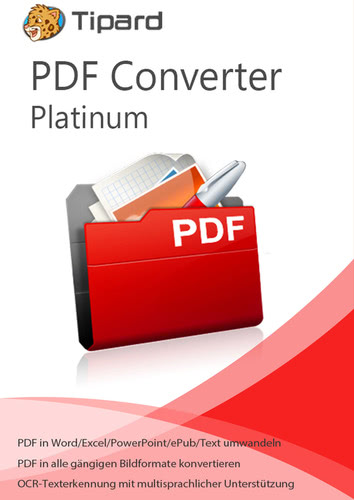 Verpackung von Tipard PDF Converter Platinum - lebenslange Lizenz [PC-Software]