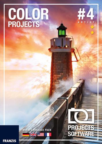 Verpackung von COLOR projects 4 für Mac [Mac-Software]