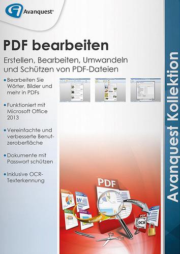 PDF bearbeiten – Avanquest Kollektion