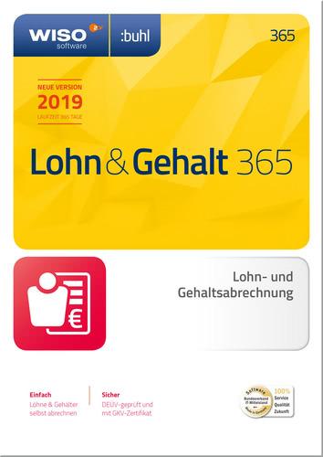 Verpackung von WISO Lohn & Gehalt 365 (2019) [PC-Software]