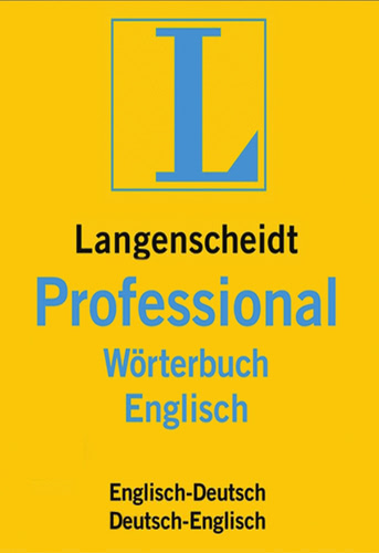 Verpackung von Langenscheidt Professional-Wörterbuch Englisch [Mac-Software]