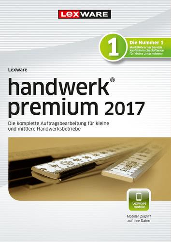 Lexware handwerk premium 2017 Jahresversion (365-Tage)