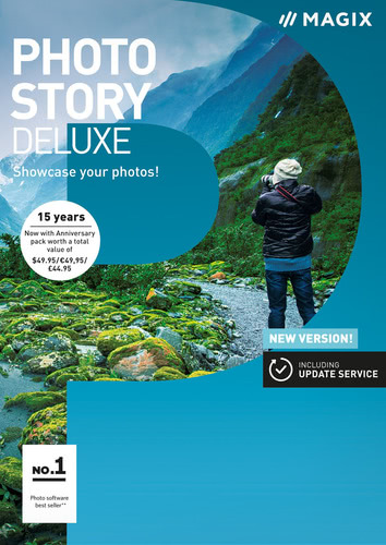 Packaging by Magix Photostory Deluxe (2018) [PC-software]