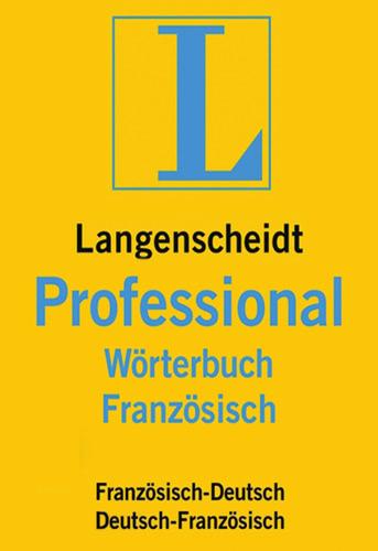 Verpackung von Langenscheidt Professional-Wörterbuch Französisch [Mac-Software]