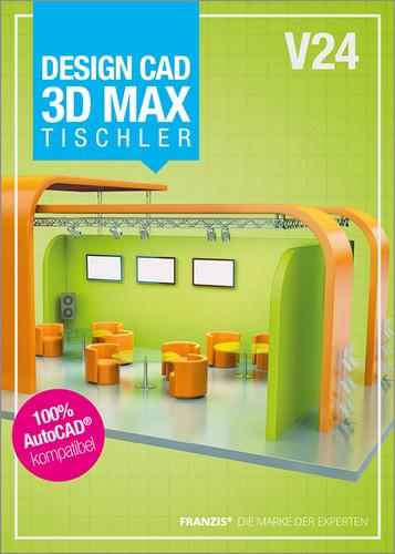 Verpackung von DesignCAD 3D MAX V24 Tischler [PC-Software]