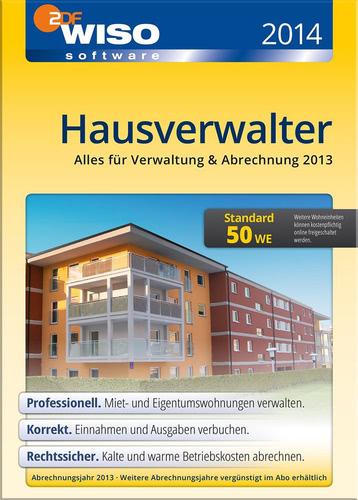 Verpackung von WISO Hausverwalter 2014 Standard [PC-Software]