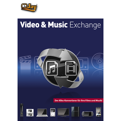 Verpackung von eJay Video & Music Exchange [PC-Software]
