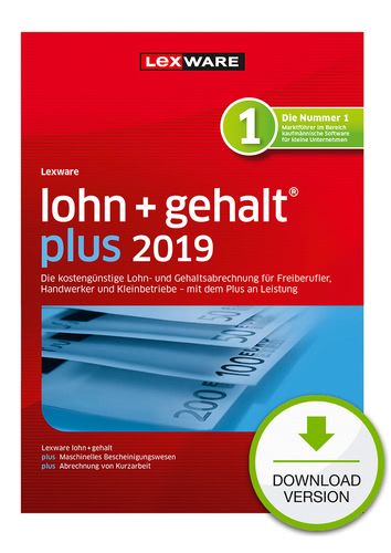 lohn+gehalt plus 2019 (Download), PC