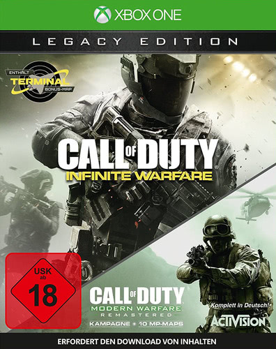 Verpackung von Call of Duty: Infinite Warfare Legacy Edition [Xbox One]