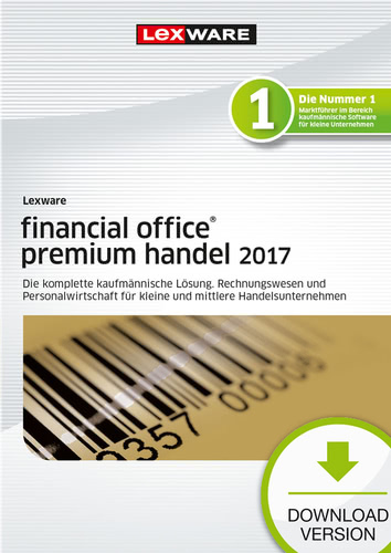 Lexware financial office premium handel 2017 Ja...