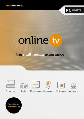Verpackung von Online TV 12 [PC-Software]