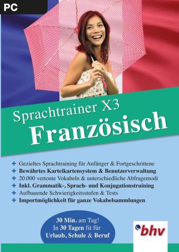 Verpackung von Sprachtrainer X3  Französisch [PC-Software]