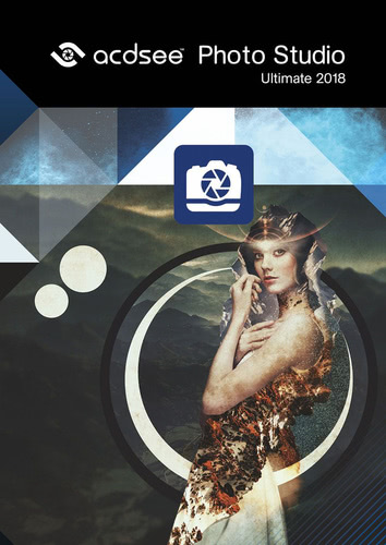 Verpackung von ACDSee Photo Studio 2018 Ultimate [PC-Software]