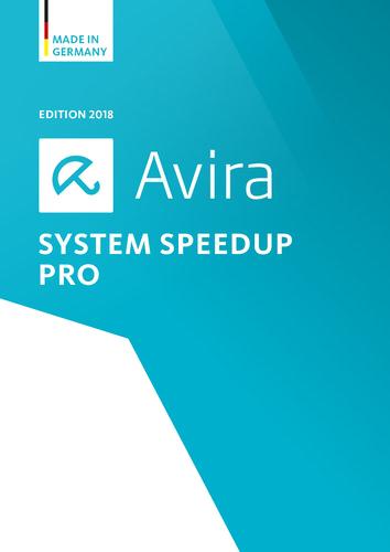 Verpackung von Avira System Speedup 2018 1 Geräte / 12 Monate [PC-Software]