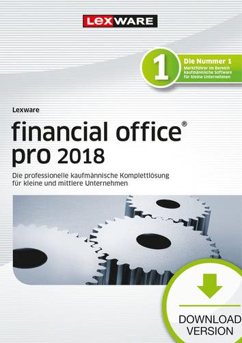 Verpackung von Lexware financial office pro 2018 Jahresversion (365-Tage) [PC-Software]
