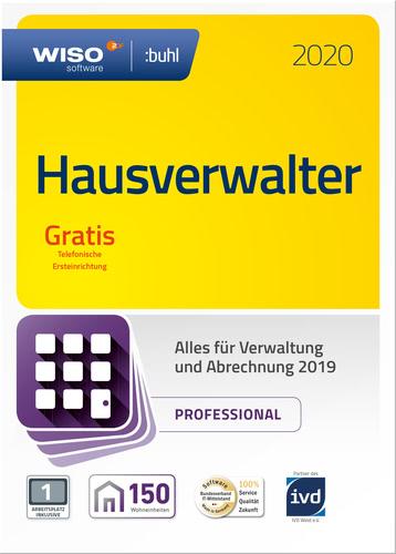 Verpackung von WISO Hausverwalter 2020 Professional [PC-Software]