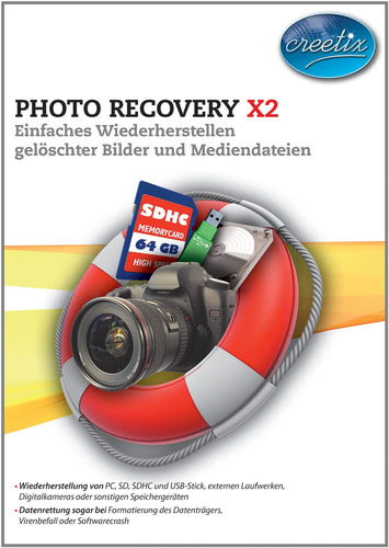 Verpackung von Creetix Photo Recovery X2 [PC-Software]