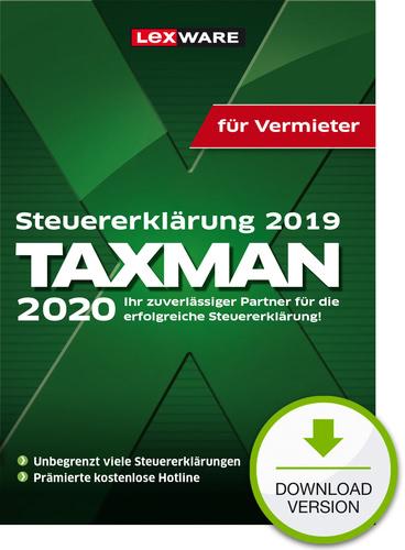 TAXMAN 2020 für Vermieter (für Steuerjahr 2019) (Download), PC