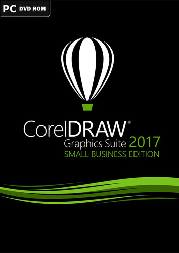 Verpackung von CorelDRAW Graphics Suite 2017 – Small Business Edition [PC-Software]
