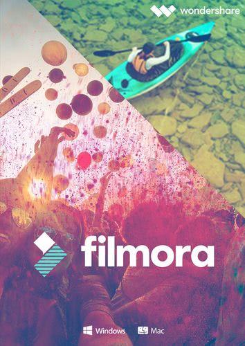 Verpackung von Wondershare Filmora Video Editor für Mac - lebenslange Lizenz [Mac-Software]