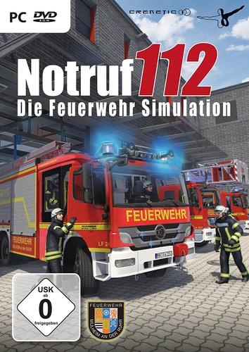 Verpackung von Die Feuerwehr Simulation Notruf 112 [PC]