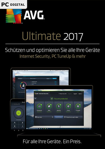 AVG Ultimate 2017 1 User / 12 Monate