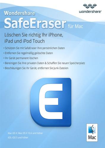 Verpackung von SafeEraser [Mac-Software]