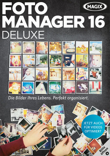 Verpackung von Magix Foto Manager 16 deluxe [PC-Software]