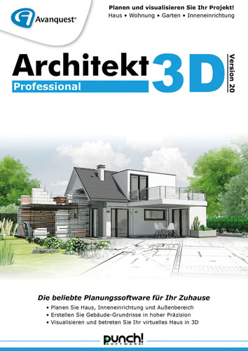 Architekt 3D 20 Professional (Download), PC