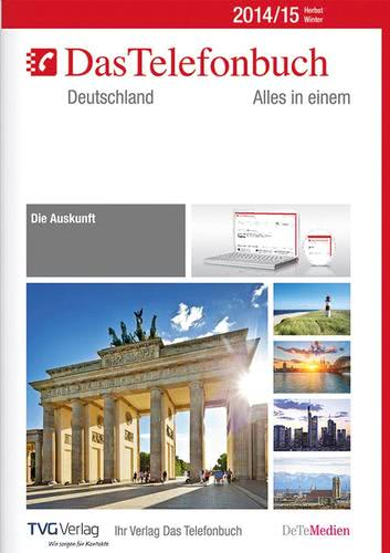 Verpackung von Das Telefonbuch. Deutschland Herbst/Winter 2014/15 [PC-Software]